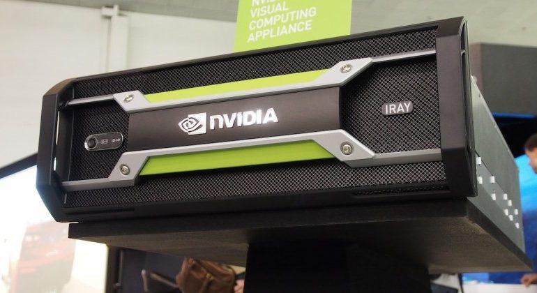 NVIDIA'dan Iray görsel bilişim aygıtı