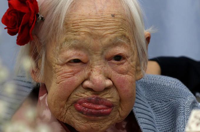 Dünyanın en yaşlı insanı 116. yaşına bastı!