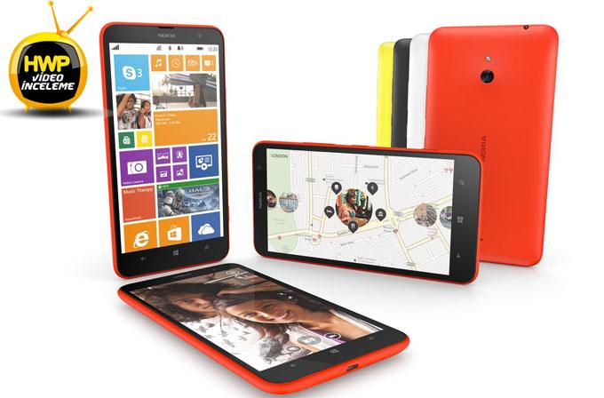 Video inceleme: Nokia Lumia 1320
