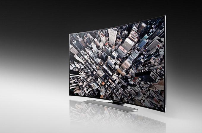Samsung'un kavisli UHD TV'si Nisan ayında Türkiye'de
