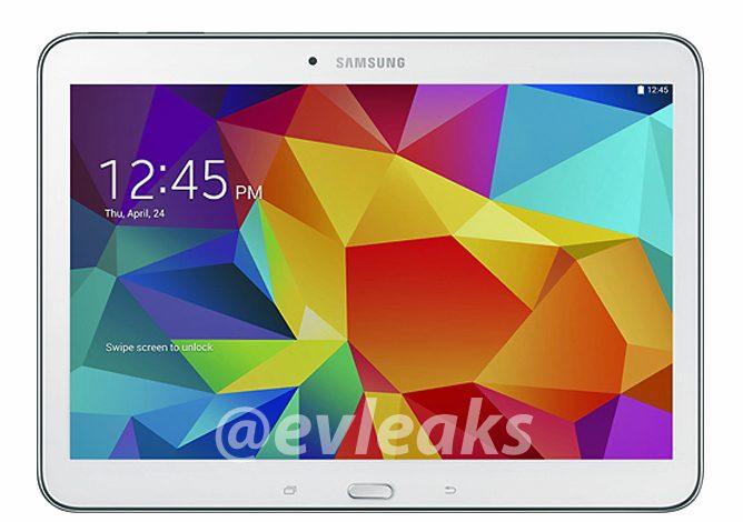 Samsung Galaxy Tab 4 10.1 görüntüsü basına sızdı