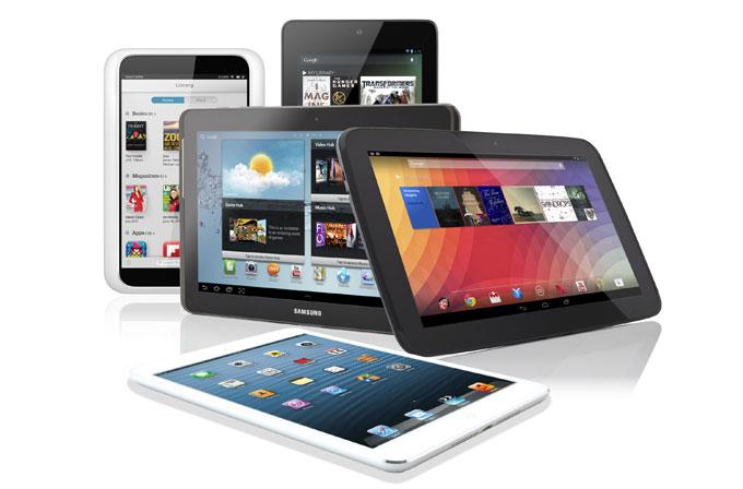 Tablet piyasasında Android iOS'u neredeyse ikiye katladı