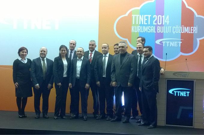 """TTNET Bulut'ta """"mağaza"""" açacak, KOBİ'ler teknolojiyle buluşacak"""