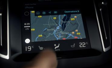 Volvo'dan Apple CarPlay videosu