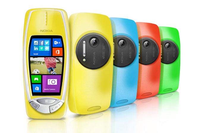 41MP kamerasıyla Nokia 3310!