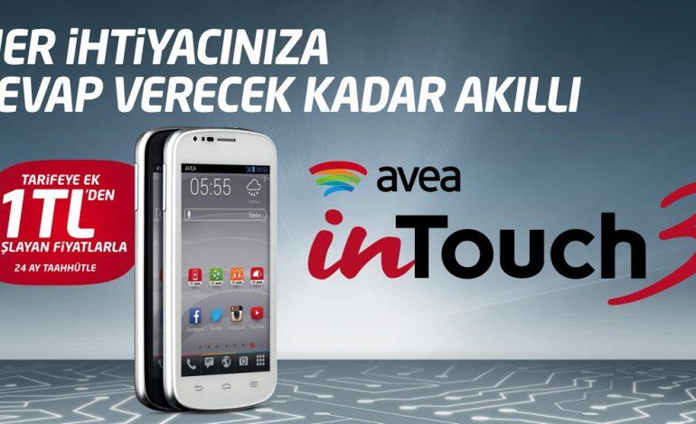 """Avea inTouch 3, """"hayatın her anını güzelleştiren teknolojisi""""yle ekranlarda"""
