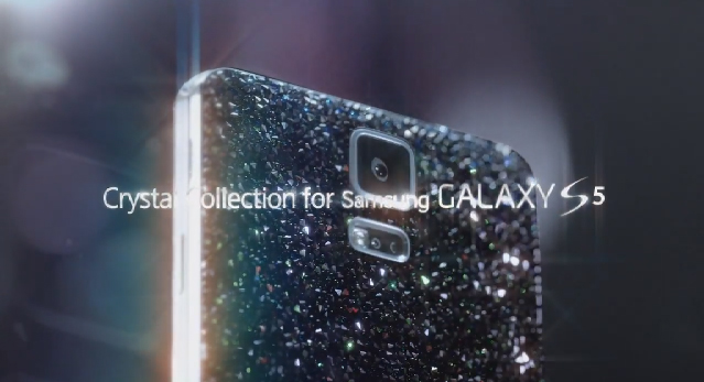 Video: Samsung'dan Swarovski taşlı Galaxy S5 Crystal Edition