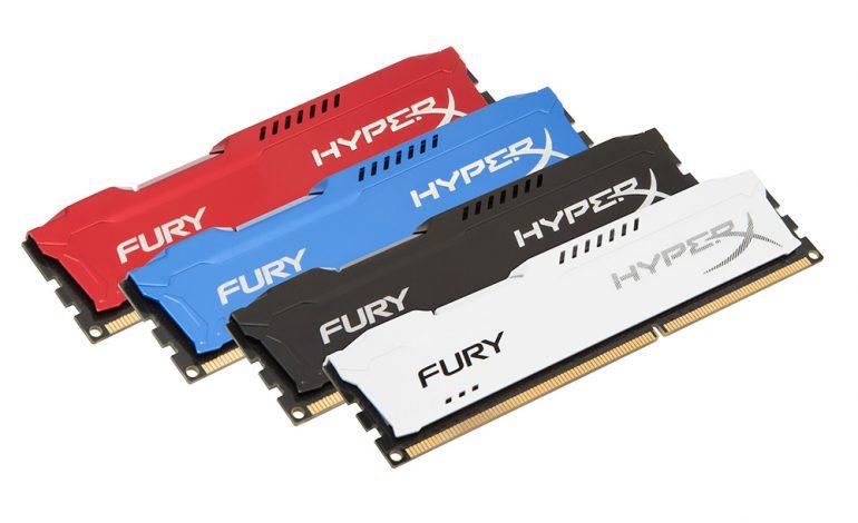 """HyperX'ten yeni bellek ailesi """"FURY"""""""
