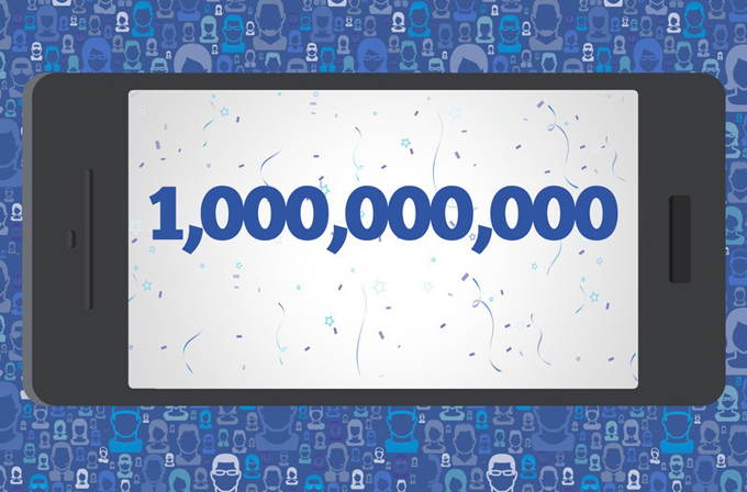 Facebook'un aylık mobil kullanıcı sayısı 1 milyarı geçti