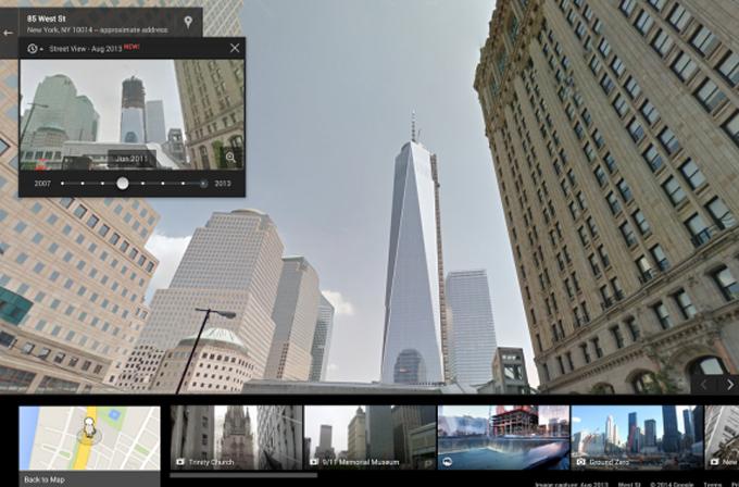 Google Street View ile zamanda yolculuk mümkün