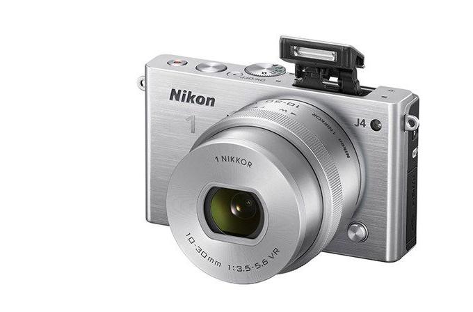 Nikon 1 serisine yeni üye Nikon 1 J4