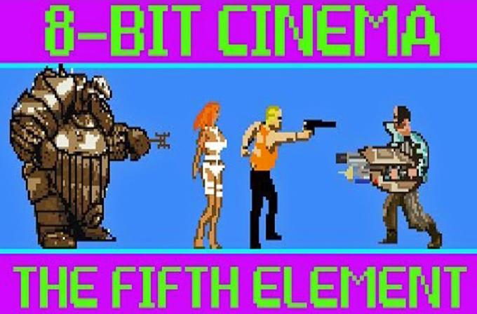Beşinci Element filmi, 8-bitlik oyun olarak tasarlandı