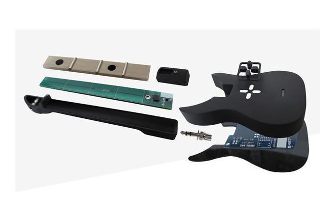 Dünyanın en küçük çalınabilen gitarı