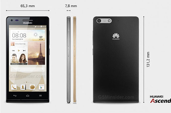 Huawei Ascend P7 mini duyuruldu