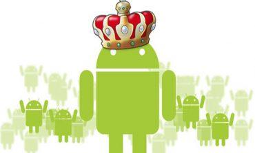 Android dünyaya hükmediyor!