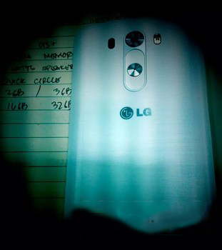 LG G3 arka