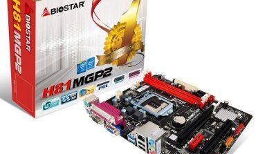 Biostar'ın 4. nesil yeni anakartı satışa sunuldu
