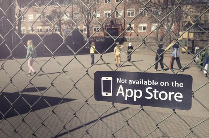 Bu oyunlar App Store'da yok!