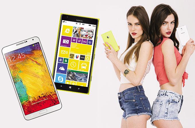Karşılaştırma: Galaxy Note 3 mü, Nokia Lumia 1520 mi?