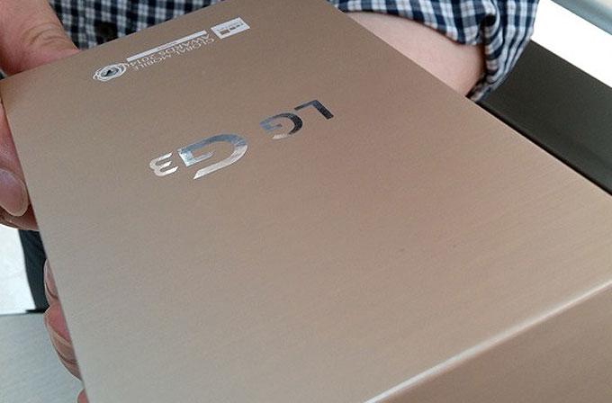 LG G3'ün altın renkli modeli onaylandı