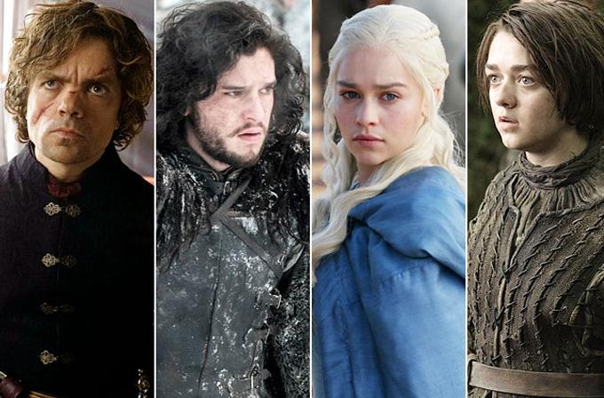Game of Thrones oyuncuları dizi dışında nasıl görünüyorlar