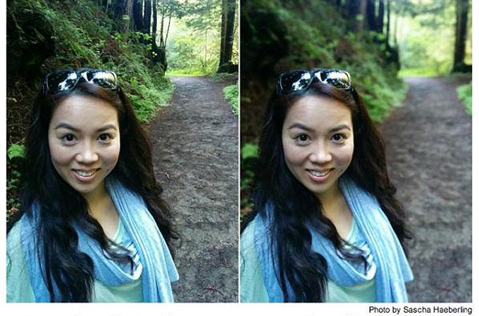 """Google'ın kamera uygulamasıyla """"Lens Blur"""" özelliğini tanıttı"""