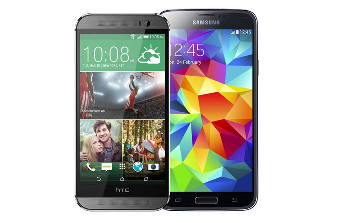 Video: Galaxy S5 ve HTC One M8 karşılaştırması