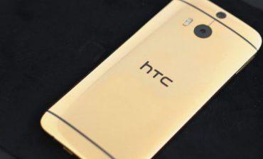 İşte 24 ayar altın HTC One M8'e sahip bir kişi!