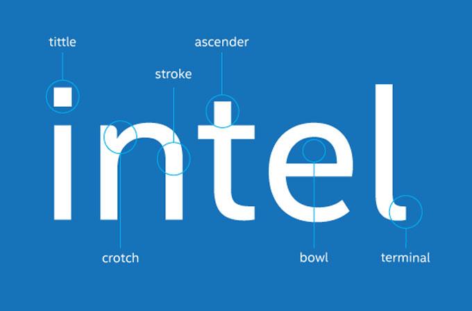 Intel'den yenilenmiş, daha temiz yazı font'u!