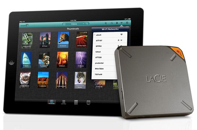 iPad'e 2TB harici depolama!