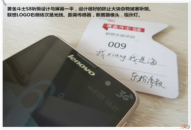 Lenovo'dan 130$'lık yeni telefon: Golden Warrior S8