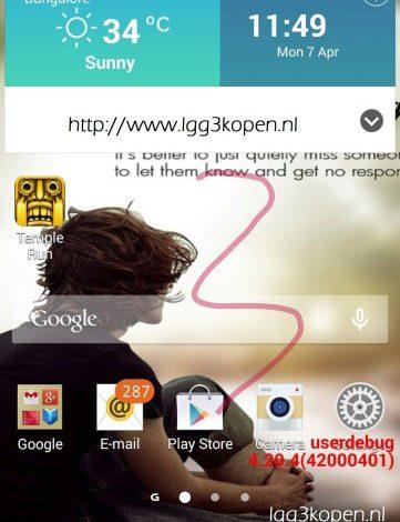 İddia: LG G3'ün arayüzü sade bir şekilde geliyor!