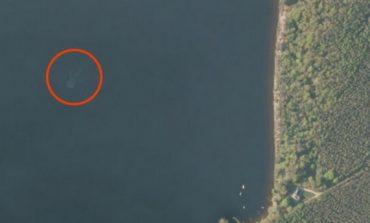 Loch Ness canavarını Apple Maps'te gördüler