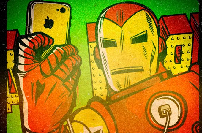 Galeri: Bu da Marvel Selfie'leri…