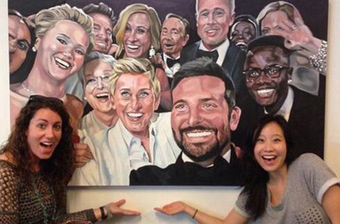 Oscar selfie'si Twitter merkezinde