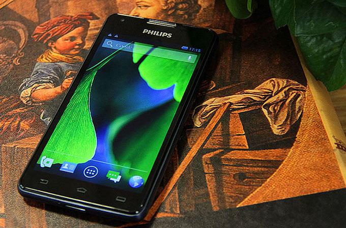 Philips'ten 5300mAH bataryalı telefon