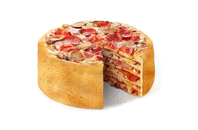 Pizza keki geliyor