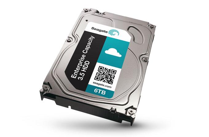 Seagate'ten 6TB'lık HDD!