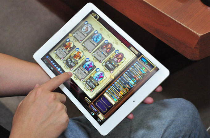 Hearthstone iPad'e sunuldu!