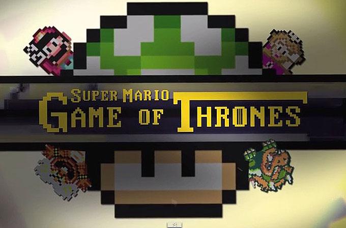 Super Mario ve Game of Thrones birleşirse