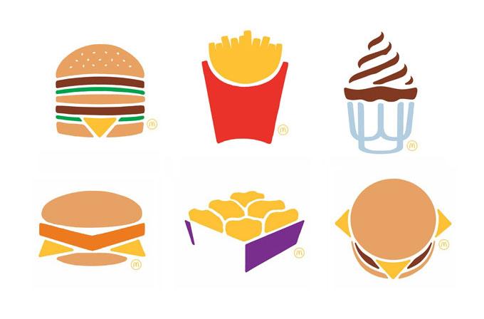 Minimalist McDonald's reklamları