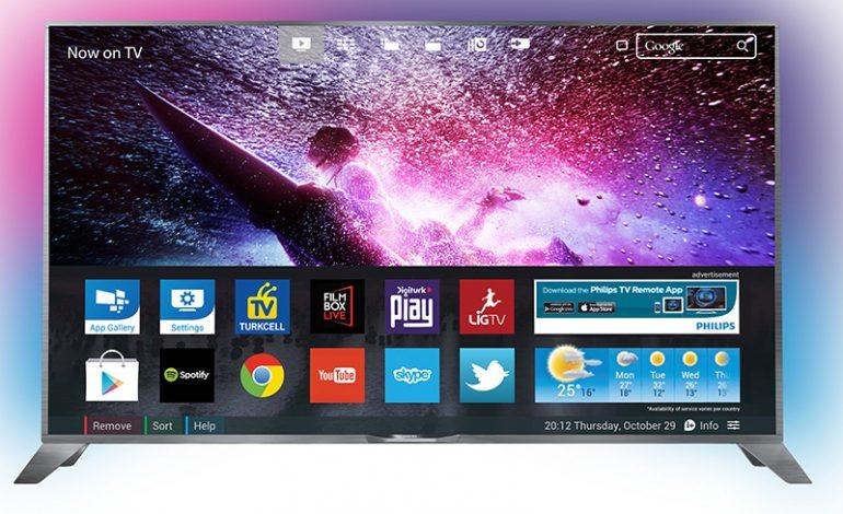 Android İşletim Sistemli Philips TV'lerle  Süper Hızlı ve Akıcı TV Deneyimi