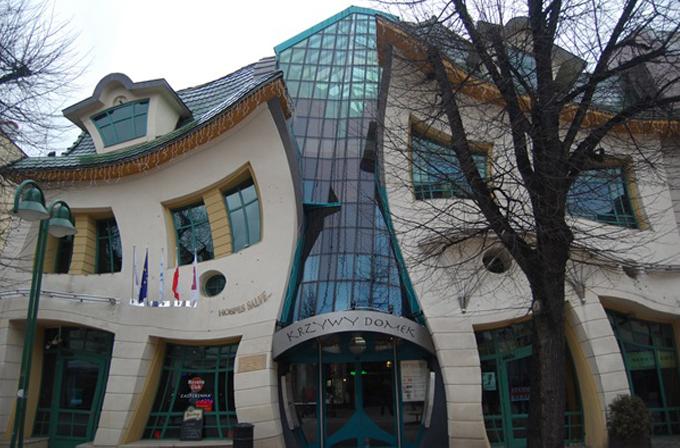 Dünyanın en ilginç mimari eserleri
