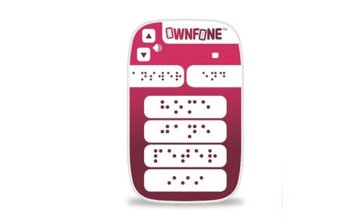 Braille phone, görme engelliler için bir ilk
