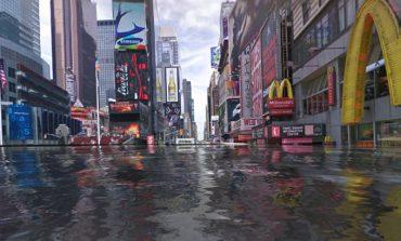 Suyla kaplı Google Street View