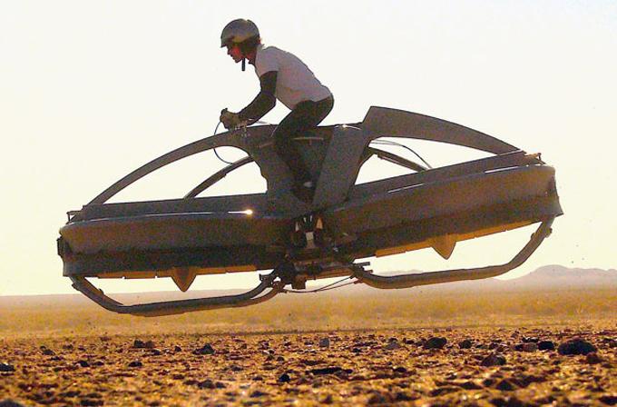 """Video: 2017'de sizin de bir Aerofex """"hoverbike""""ınız olabilir"""
