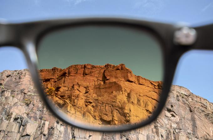 Fotoğraf filtreli güneş gözlüğü