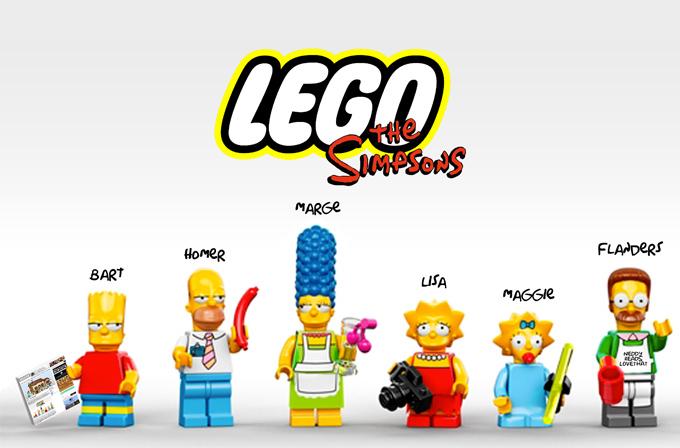 """The Simpsons""tan Lego bölümü"