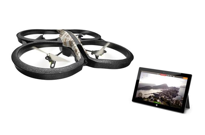Windows 8 kullanıcıları, insansız hava aracı uçurabilecekler