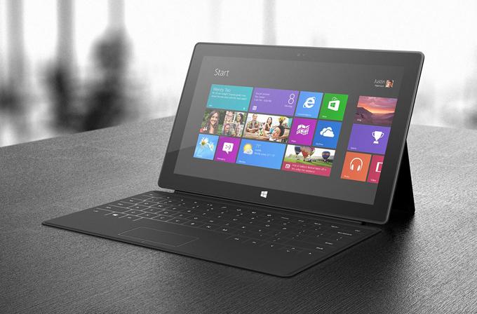 Microsoft, 'laptop'ları öldürecek tabletini tanıttı